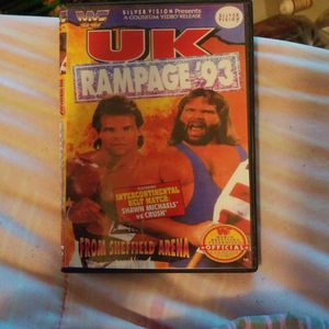 Wwf Uk Rampage 1993 Dvd for Sale in Chicago, IL