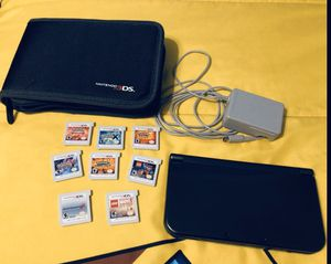 Nintendo 3ds xl black set and games for Sale in Tampa, FL