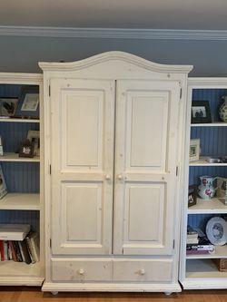 3-Piece Armoire/Book Shelf Wall Unit for Sale in Kensington,  MD