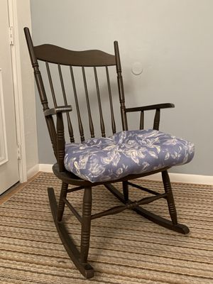 Wooden Rocking Chair for Sale in League City, TX