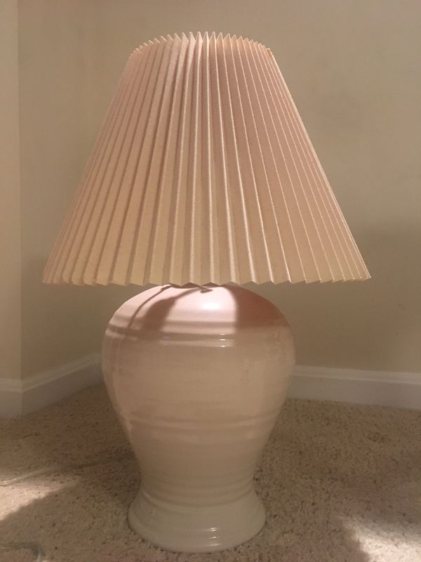 Off-white lamp for sale