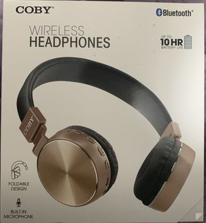 COBY WIRELESS HEADPHONES for Sale in Beaverton, OR