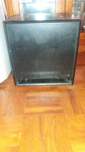 Acoustic Research 12 inch powered subwoofer worth 100% for Sale in Philadelphia, PA