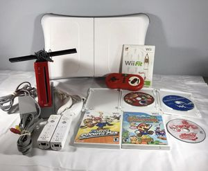 Red Nintendo Wii Bundle for Sale in Orlando, FL