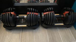 Bowflex SelectTech 552 Dumbbells for Sale in Oakland Park, FL
