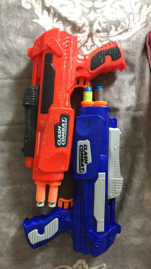 Nerf guns and bullets for Sale in St. Pete Beach, FL