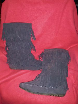 Boots with Fringe Size 11 for Sale in Independence, MO