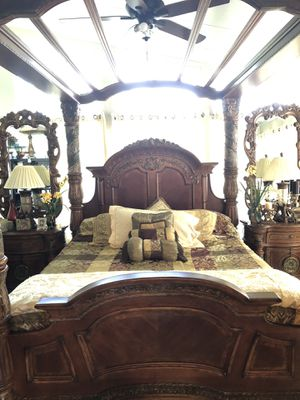 "Exquisite! ""Villa Valencia"" Michael Amini / Aico King size bedroom set! for Sale in Orlando, FL"