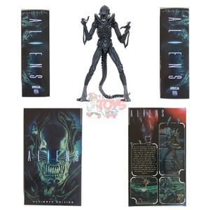 "ULTIMATE BLUE XENOMORPH ALIEN WARRIOR Neca ALIENS 1986 Classic 7"" inch ACTION FIGURE for Sale in Ontario, CA"