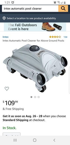 Intex pool cleaner for Sale in Columbus, OH