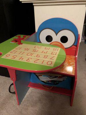 Elmo kids desk for Sale in Santa Clarita, CA
