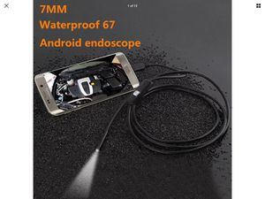 1M 7MM 6LED Android Pc HD Endoscope Waterproof Snake Borescope Inspection camera for Sale in Harrisonburg, VA