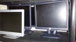 Dell and other brands computer monitors for Sale in Wichita, KS