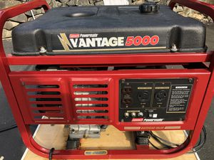 5000 Watt Generator (cart extra) for Sale in Federal Way, WA