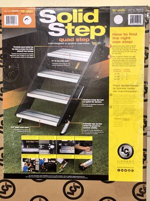 Lippert 4 Step for Camper for Sale in Stantonsburg, NC