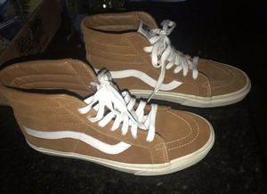 Brown Suede High Top Vans for Sale in Corona, CA