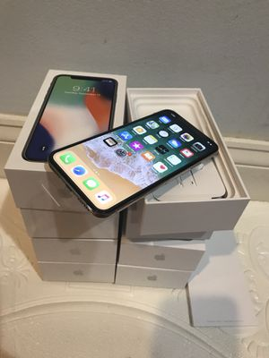 IPHONE X 256gb AT&T only brand new for Sale in Annandale, VA
