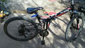 X spec folding mountain bike for Sale in Guadalupe, AZ