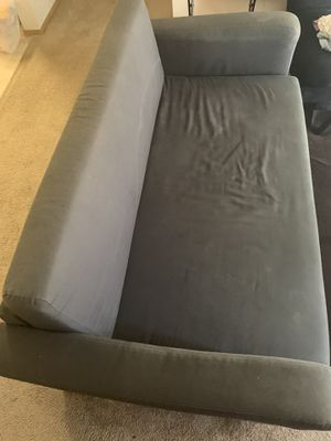 Grey Sofa/Futon for Sale in Pleasanton, CA
