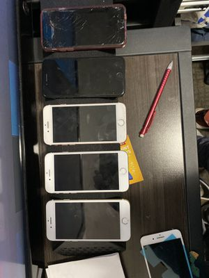 5 iPhone 7's various conditions for Sale in Provo, UT