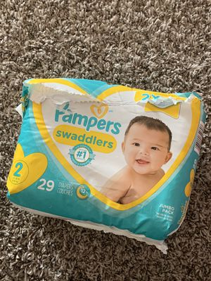 Pampers Stage 2 - 29 pk for Sale in Perris, CA