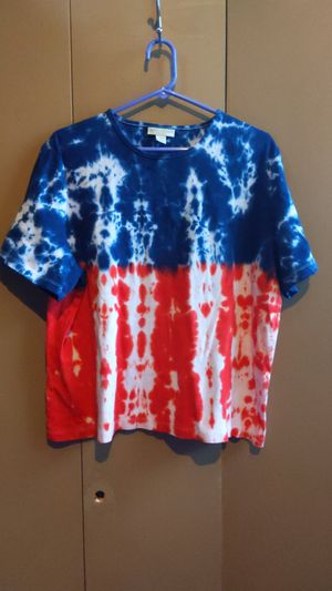 Repurpose red white and blue appleseeds women's 2X and odd for Sale in Midland, VA