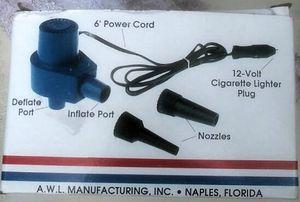 Air America II INFL-2 12 Volt Cigarette Lighter Inflator/Deflator for Sale in Gilmer, TX