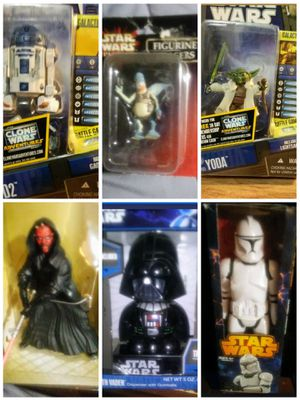 Collectable Star Wars Figures for Sale in Harriman, TN