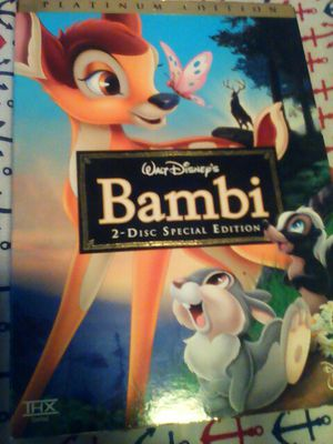Bambi Platinum Edition DVD for Sale in San Diego, CA