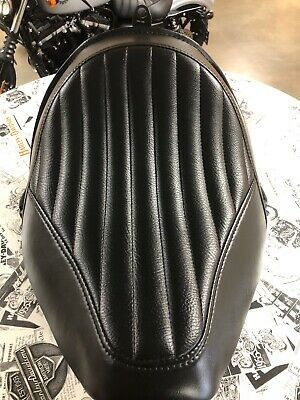$175 or Best Offer Harley Davidson Tuck & Roll Solo Seat. Fits Harley-Davidson Softail Blackline models. In Great Condition ! for Sale in Irving, TX