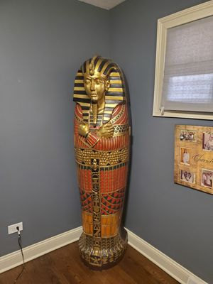 King Tut sarcophagus with storage for Sale in Burbank, IL