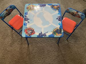 Kids Paw patrol desk and chair for Sale in Houston, TX