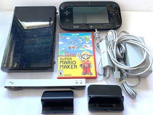 Nintendo Wii U + Mario Maker Game for Sale in Mesa, AZ