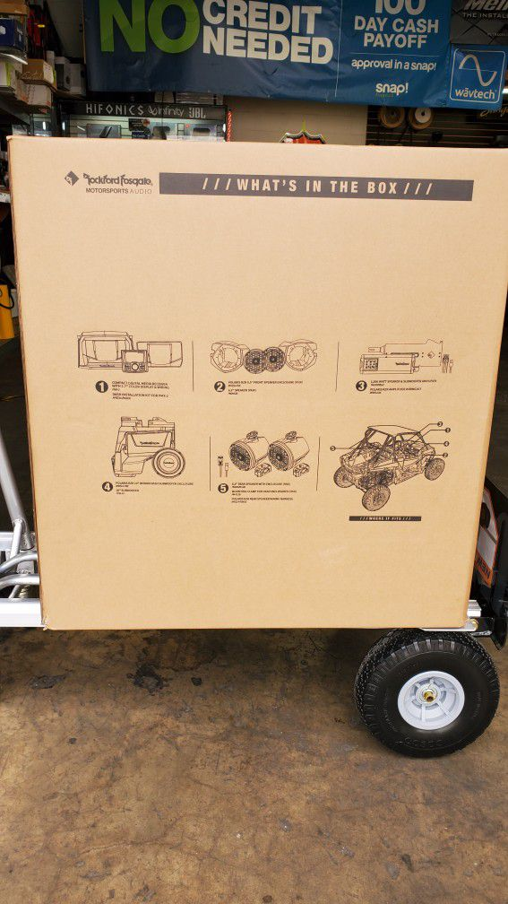 Rockford Fosgate Stage 5 For RZR Poalirs