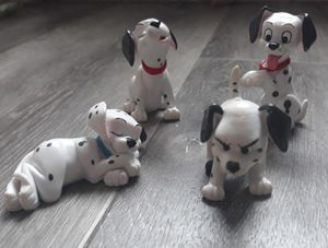Vintage 101 DALMATIANS TOYS DISNEY FIGURES, ACCESSORIES, CAKE TOPPERS for Sale in Longmont, CO