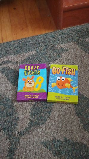 Kids card games for Sale in Livonia, MI