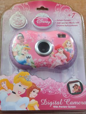 Disney Princess Digital Kids Camera with Lcd screen for Sale in South Gate, CA