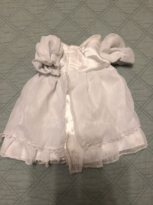 Build-a-bear White Dress for Sale in Houston, TX