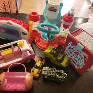 Toys: Transformers, Shaking, LOL, Spiderman, Playdoh for Sale in Stanton, CA