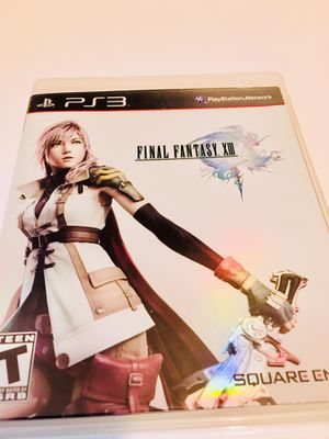 Final Fantasy 13 (PS3) for Sale in Raleigh, NC