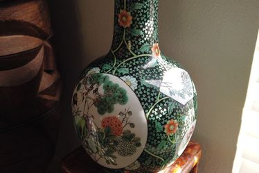 Antique Chinese Porcelain Vase for Sale in Dallas,  TX