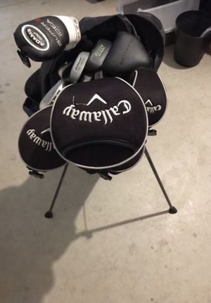 Full Set of Callaway Clubs + Bag for Sale in Portland, OR