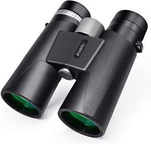 12x42 Binoculars for Adults - HD Low Light Night Vision - Compact Lightweight (1.05lb) - Powerful BAK4 Prism FMC Lens - Waterproof Binoculars for Bir for Sale in Diamond Bar, CA
