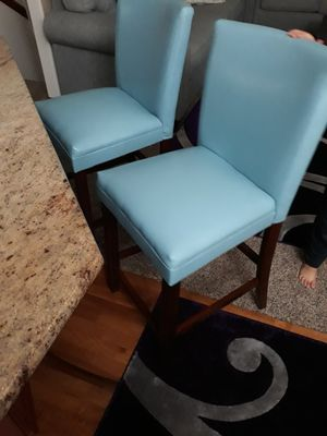 2 High leather chairs for Sale in Everett, WA