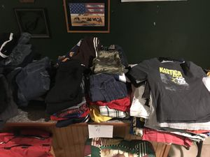 TONS of Kid's Clothing - BOY- sizes 4T, 5T, 6T, & 7T for Sale in Fredericksburg, VA
