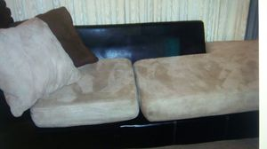 Couch chaise 8 ft. Beautiful for Sale in Warren, MI
