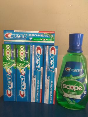 Toothpaste and Mouthwash for Sale in Exeter, CA