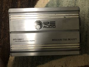 RE Audio Limited Edition Release the Beast Amplifier for Sale in Lewisburg, TN
