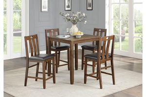 5 Piece Counter Height Table and Chairs for Sale in Garner, NC