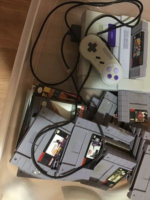 Super Nintendo Game system, (sold) game controller, (sold) GAMES ONLY!!! for Sale in Atlanta, GA